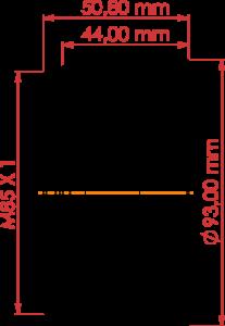 Futonics F-Theta Objektiv F-TO 170/2000
