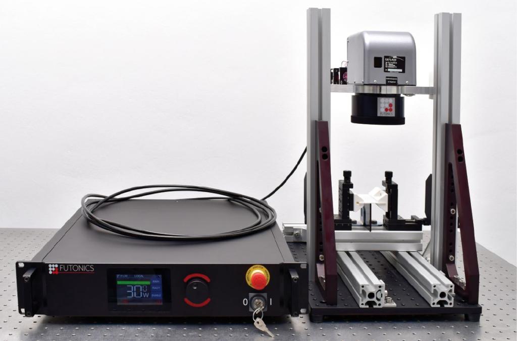 Futonics Laser IFL Scannersystem